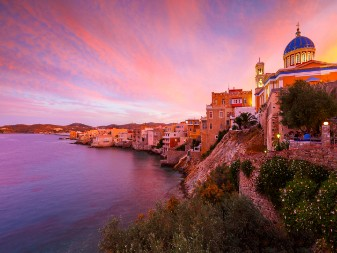 mansions in Syros
